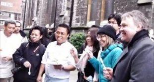 Budiono Bin Sukim, dulu penjual es bon-bon di Pemalang, kini jadi Chef terkenal di London. Foto: Ist