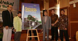 Peluncuran Buku Bahagiamu Lengkap dengan Wakaf di Hotel Balairung, Jakarta, Kamis (12/5/2016)/ Foto: KBK