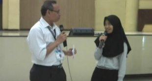 Mahasiswa termuda Unair, Surabaya Usia 14 Tahun. foto:Ist