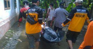 Ilustrasi evakuasi warga korban banjir dan longsor / DMC