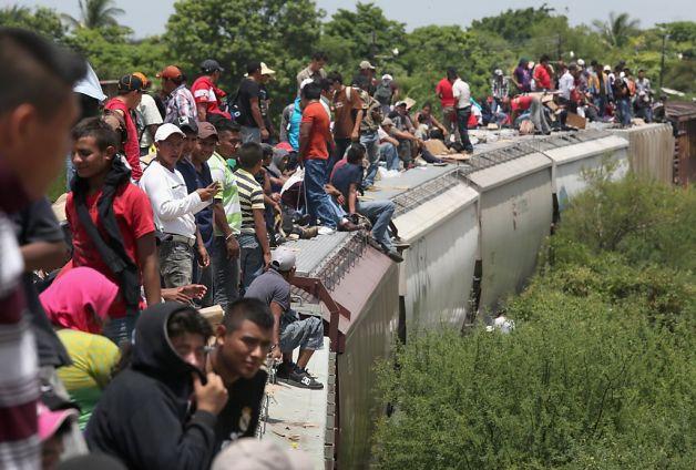Pendatang Ilegal Meksiko