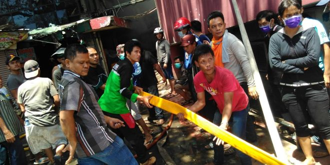 Tim relawan Dompet Dhuafa turun ke lokasi kebakaran Pasar Senen