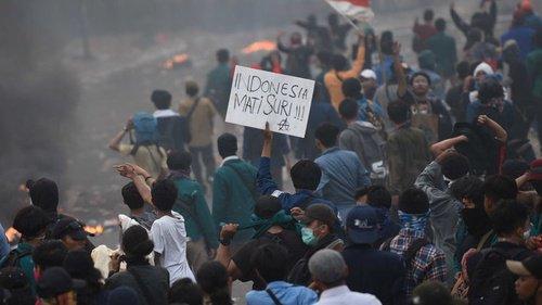 Komnas HAM Soroti Kematian Tiga Pengunjuk Rasa dalam Demo Tolak ...